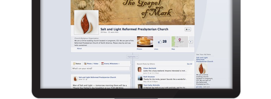 Facebook Page: Salt & Light Reformed Presbyterian Church